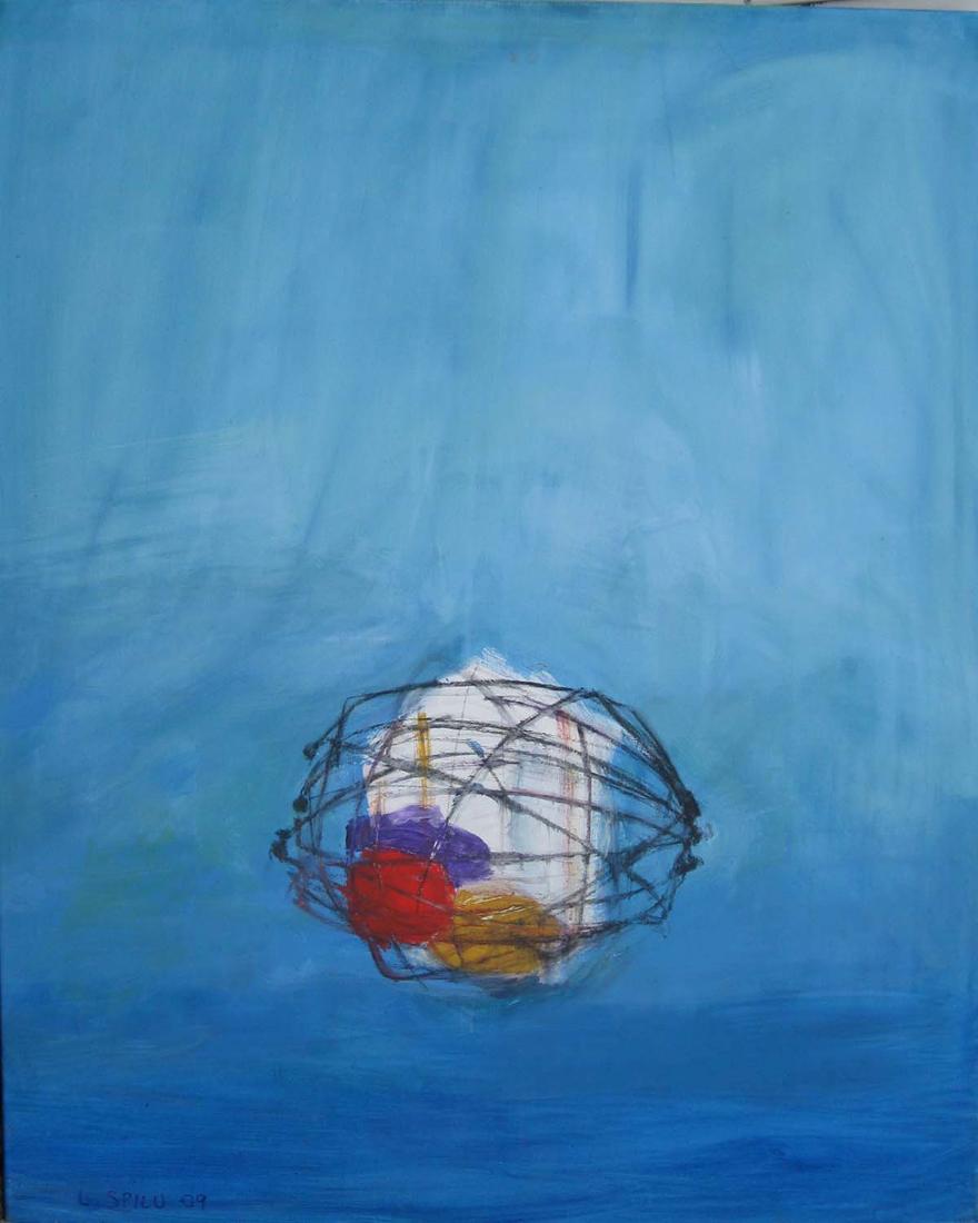 In memoriam, 80x100, 2009