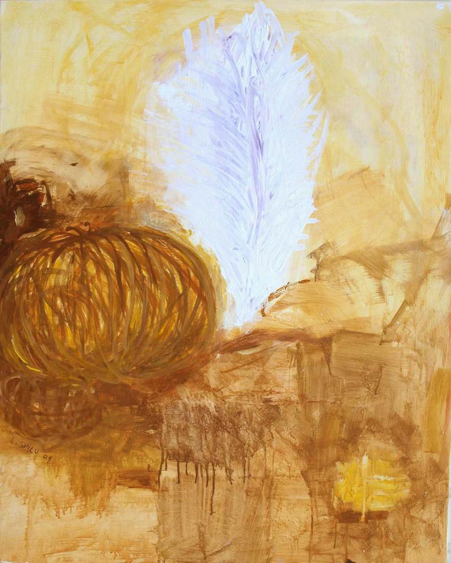 o.T. (Gott), 100x80, 2009