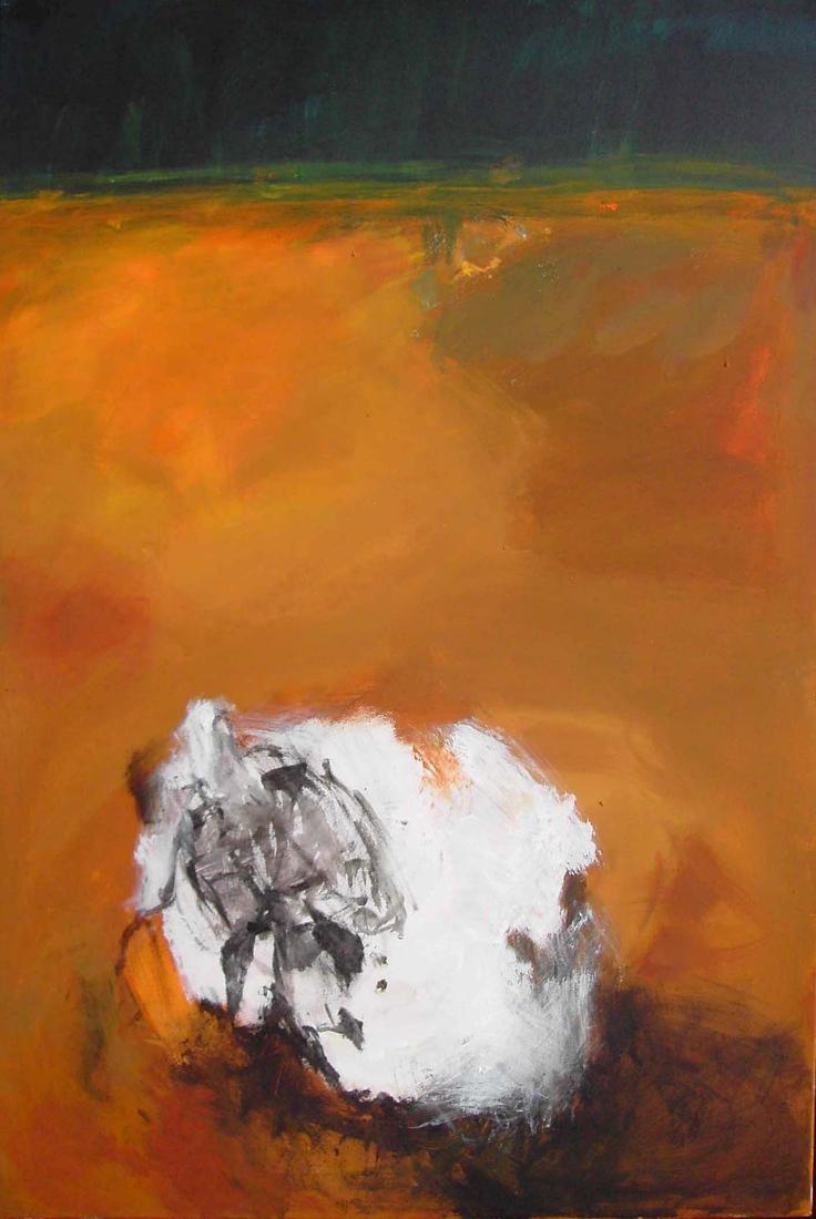 o.T. (Wattebausch), 120x80, 2007