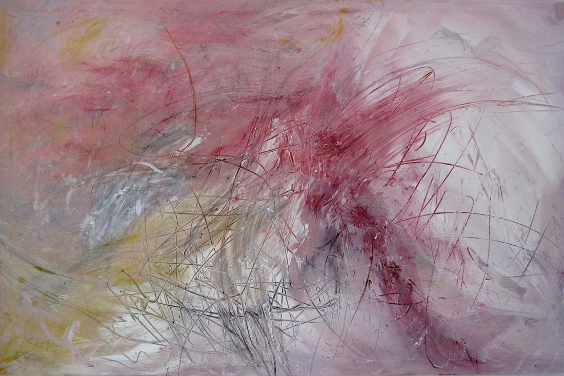 o.T. (rosa), 80x120, 2012