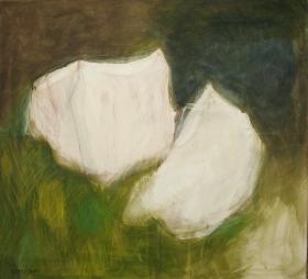 2 Körper im Wald, 90x100, 2013