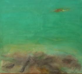 Am Wasser 6, 2015, 90x100
