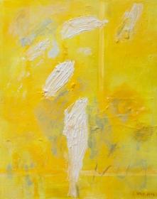 Monochrom gelb1, 100x80 ,2014