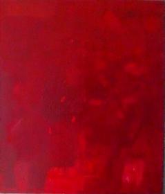 Monochrom-rot,-95x110,-2015