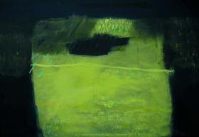 Leuchtquader2, 80x100, 2007