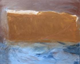 Steilküste 2, 80x100, 2012